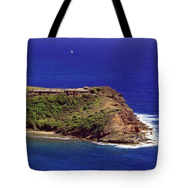 Tote Bag featuring the photograph Standfast Point by Tony Murtagh