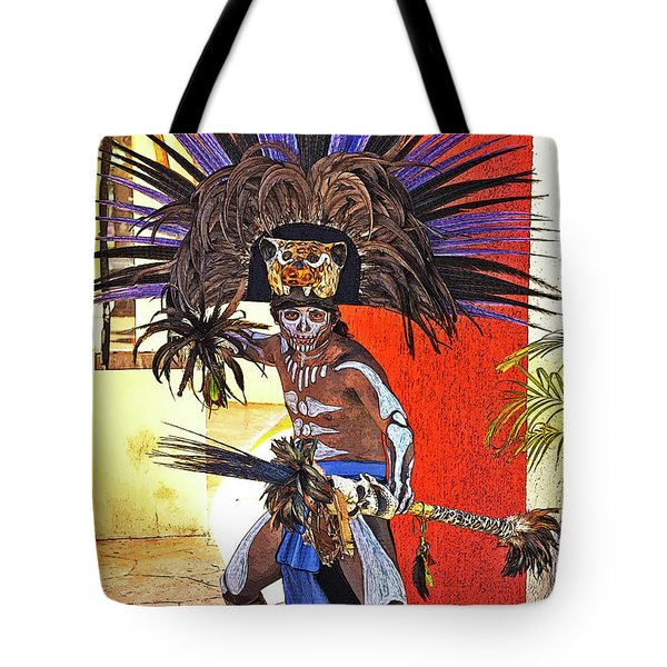 Standing His Ground Tote Bag