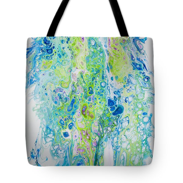 Standing In The Surf Tote Bag