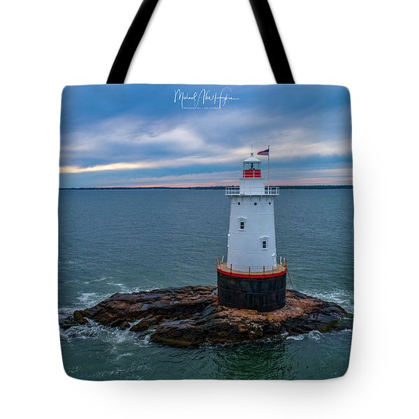 Tote Bag featuring the photograph Standing Watch by Michael Hughes