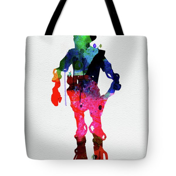 Star Droid Watercolor 2 Tote Bag