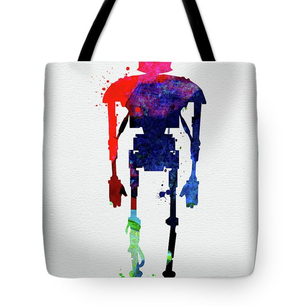 Star Droid Watercolor 3 Tote Bag
