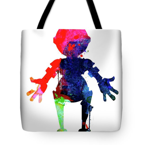 Star Droid Watercolor 4 Tote Bag