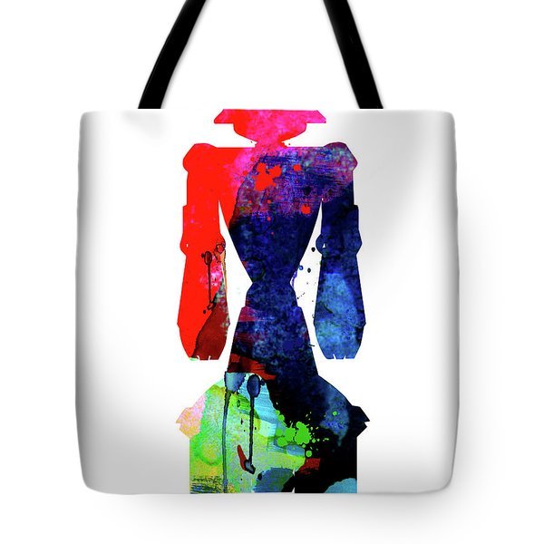 Star Droid Watercolor 5 Tote Bag