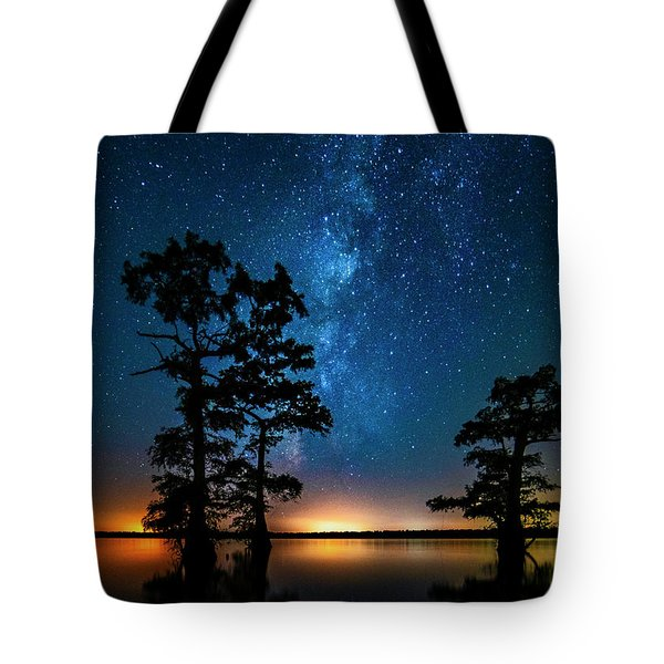 Tote Bag featuring the photograph Star Gazers by Andy Crawford