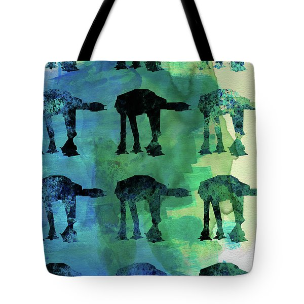 Star Ground Warrior Collage Watercolor 1 Tote Bag