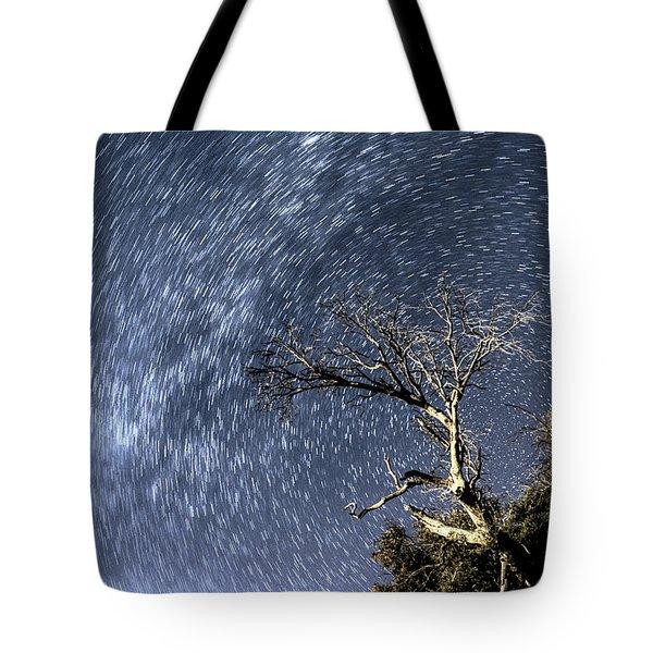Star Trail Wonder Tote Bag