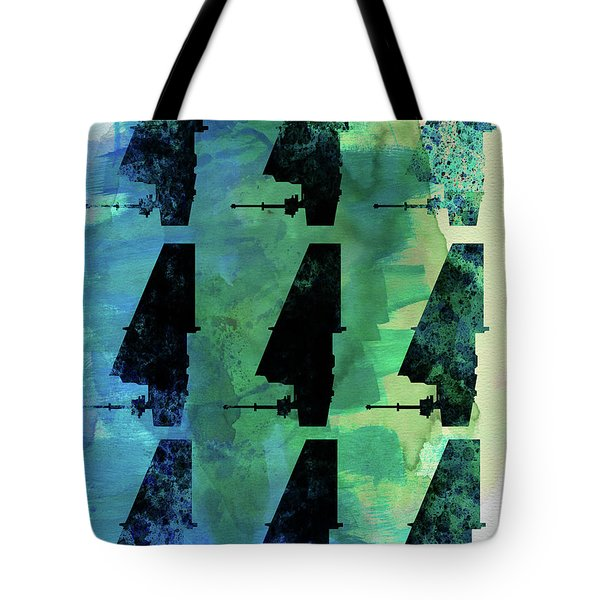 Star Warrior Collage Tote Bag