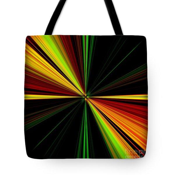 Starburst Light Beams Design - Plb461 Tote Bag