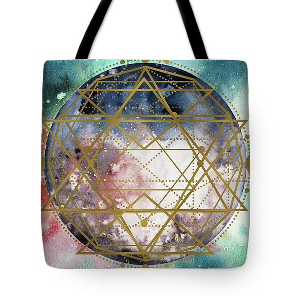 Tote Bag featuring the digital art Starchild by Bee-Bee Deigner