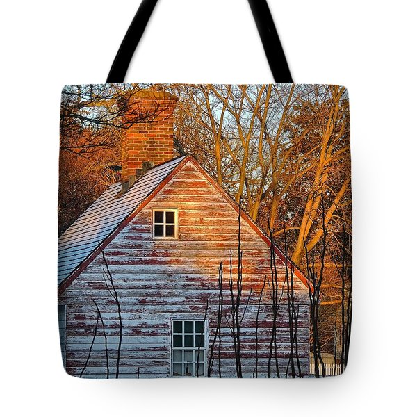 Tote Bag featuring the photograph Stark... by Don Moore