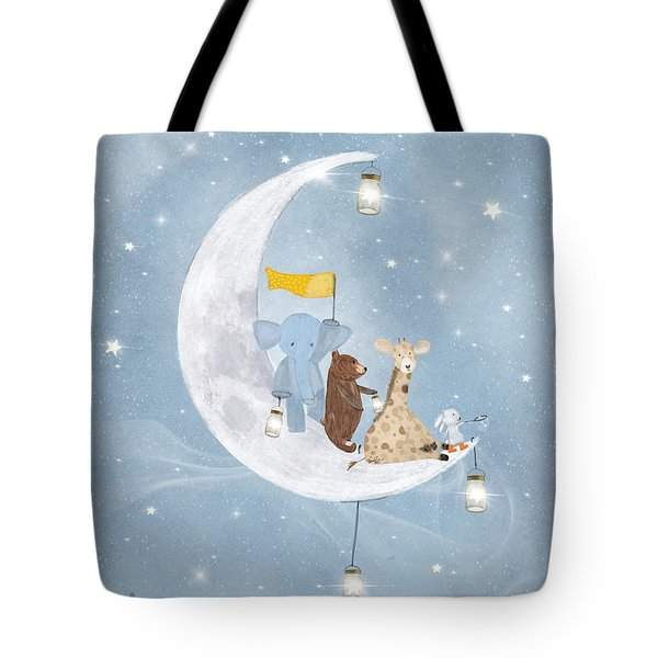 Starlight Wishes With You  Tote Bag