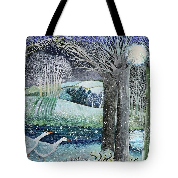 Starry River Tote Bag