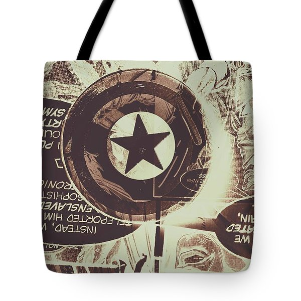 Stars And Shields Tote Bag