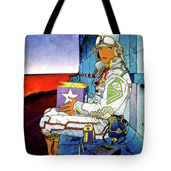 Starwatcher Tote Bag