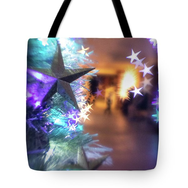 Tote Bag featuring the photograph Stary Night 1 by Brian Hale