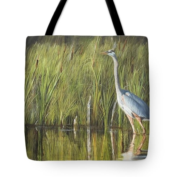 Tote Bag featuring the painting Stately Grace by Tammy Taylor