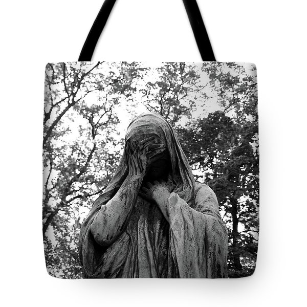 Statue, Regret Tote Bag