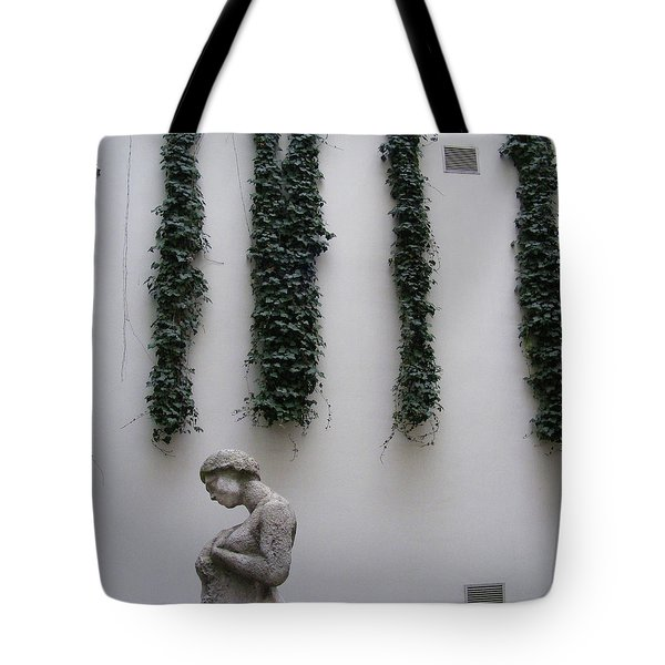 Statue, Wall Tote Bag