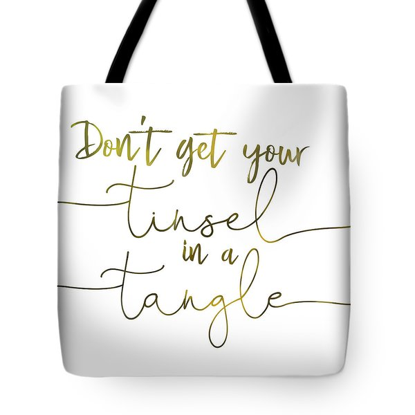 Stay Cool Quote Tote Bag