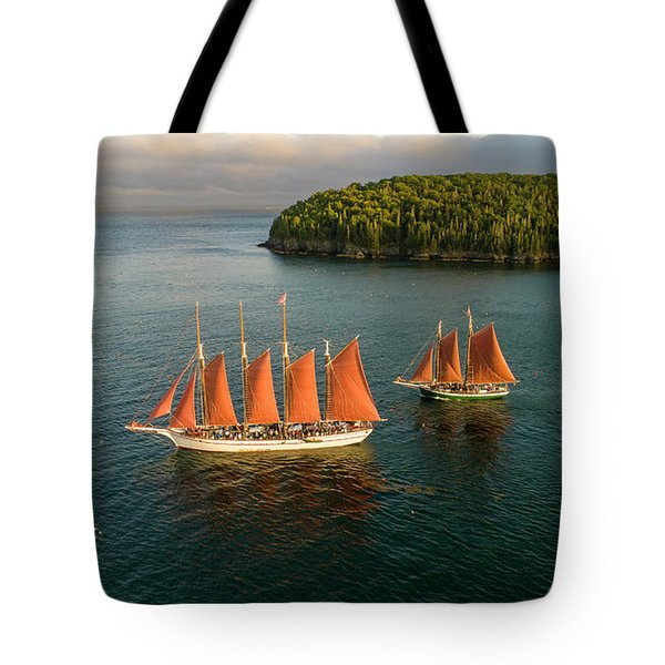Tote Bag featuring the photograph Stay The Course  by Michael Hughes