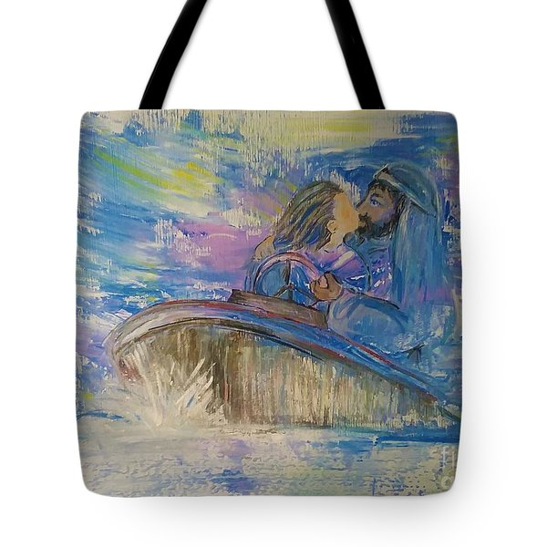 Staying The Course Tote Bag