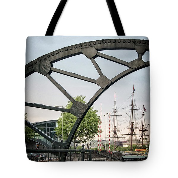 Steel And The Golden Age Tote Bag
