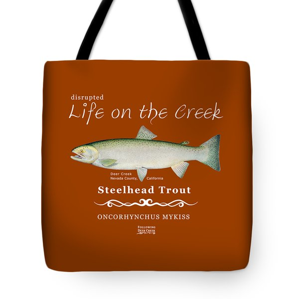 Steelhead Trout Tote Bag