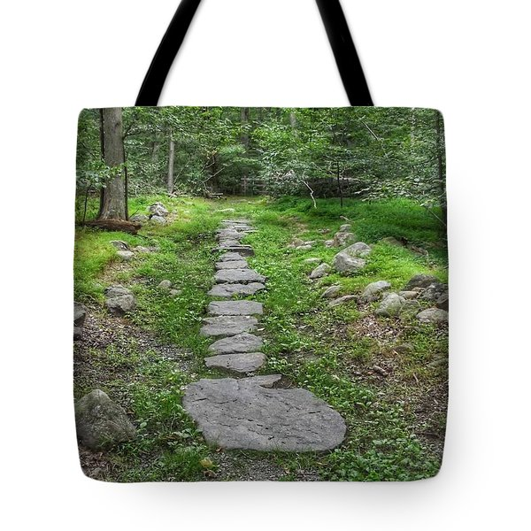 Stepping Stone Path - Kinnelon Tote Bag