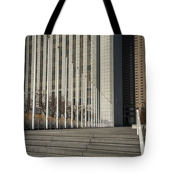 Steps And Poles Tote Bag