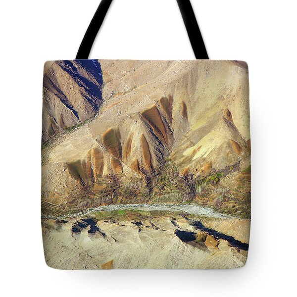 Tote Bag featuring the photograph Steps Of Fertility by SR Green