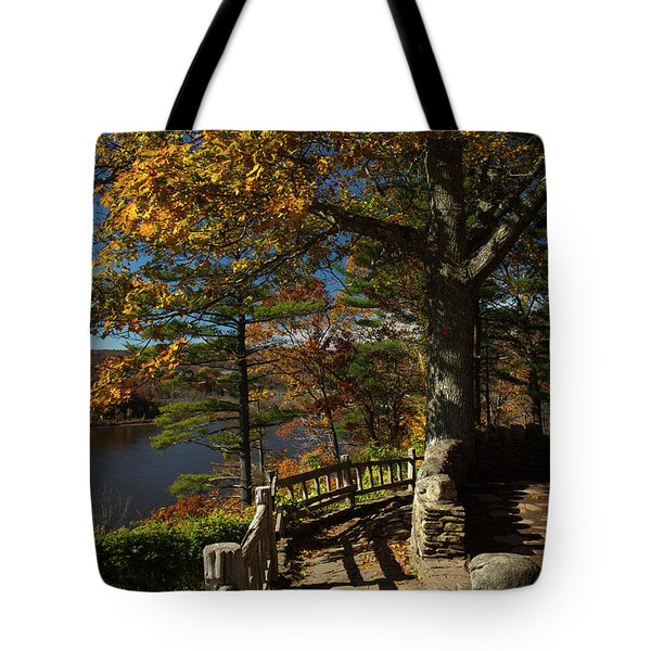 Steps To Autumn Tote Bag