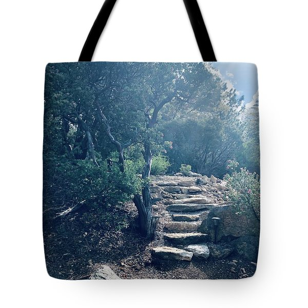 Steps To Enlightenment  Tote Bag