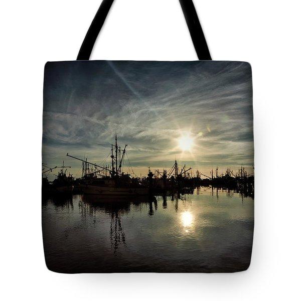 Steveston Silhouette Tote Bag