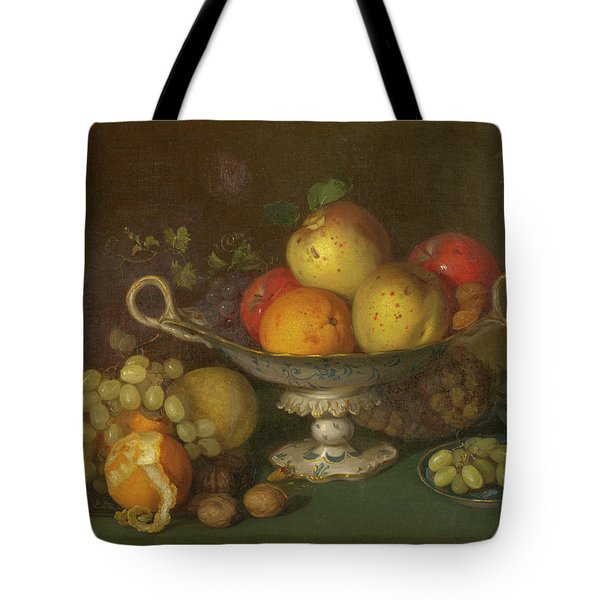 Still Life With Fruit, 1844 Tote Bag