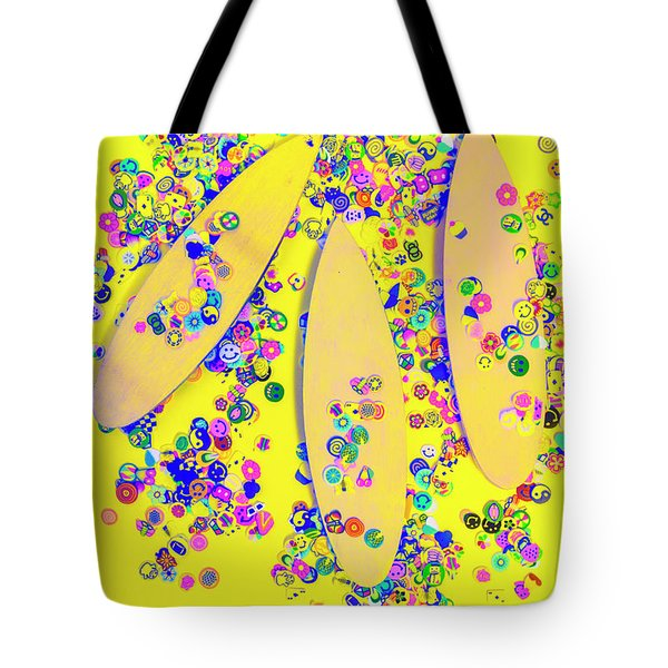 Still Surfboarding Tote Bag