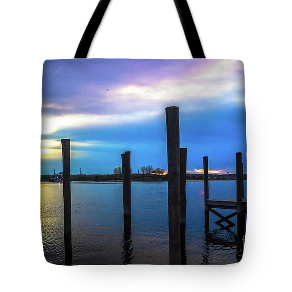 Still Waters At Twilight Tote Bag