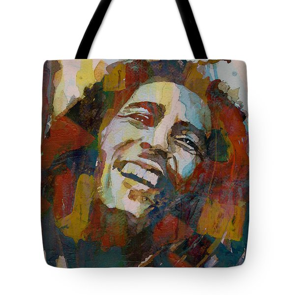 Stir It Up - Retro - Bob Marley Tote Bag