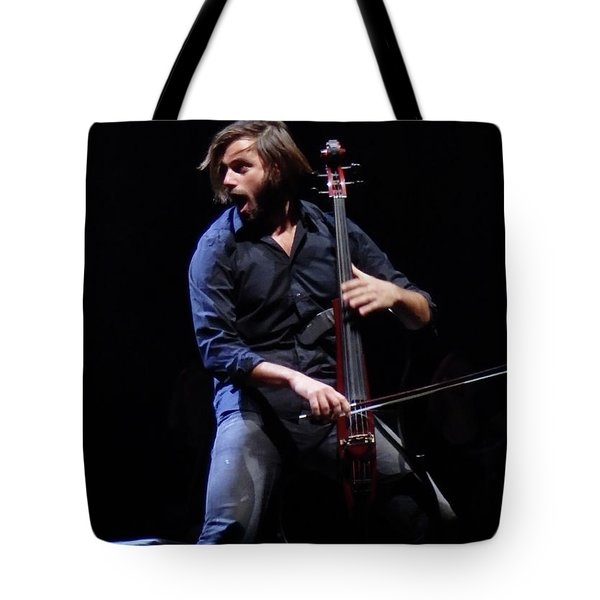 Tote Bag featuring the photograph Stjepan Hauser by James Peterson
