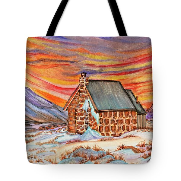 Stone Refuge Tote Bag