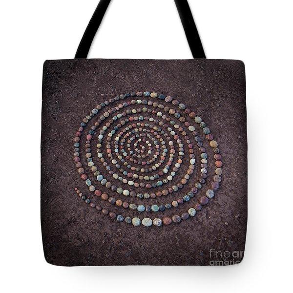 Stone Spriral Tote Bag