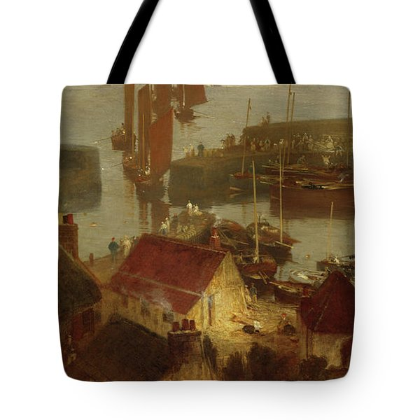 Stonehaven Harbour Tote Bag