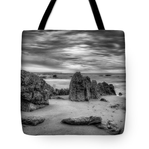 Tote Bag featuring the photograph Storm At Leo Carrillo by John Rodrigues