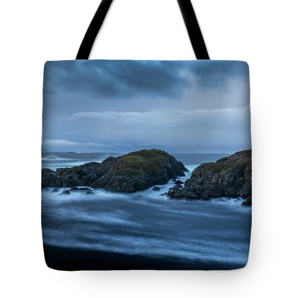 Storm At The Sea Tote Bag