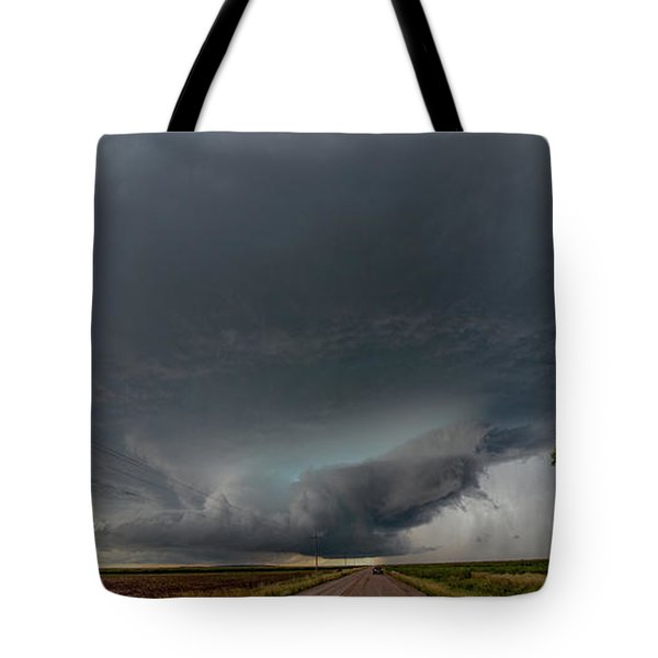 Storm Chasin In Nader Alley 008 Tote Bag
