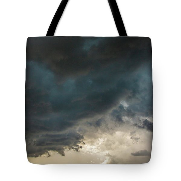 Storm Chasin In Nader Alley 012 Tote Bag