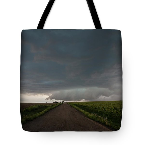 Storm Chasin In Nader Alley 025 Tote Bag