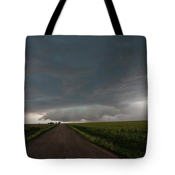Storm Chasin In Nader Alley 025 Tote Bag