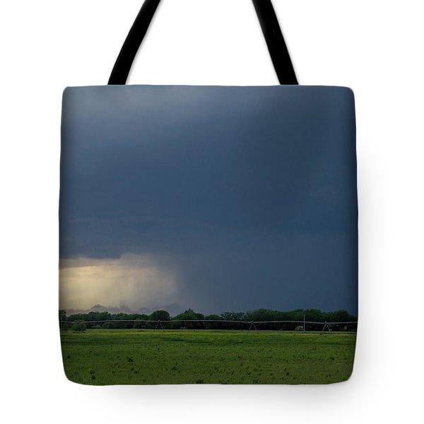 Storm Chasing West South Central Nebraska 002 Tote Bag