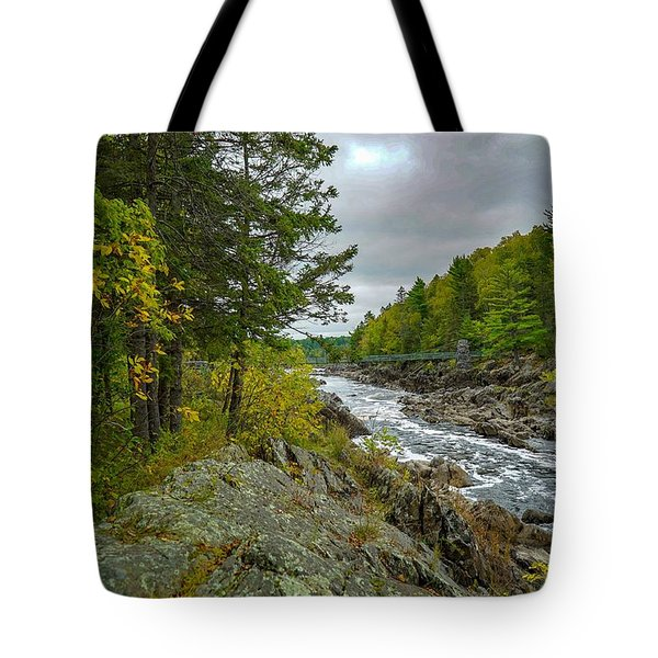 Storm Clouds At Jay Cooke Tote Bag